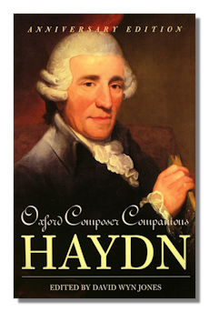 Classical net review jones oxford composer companions haydn