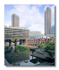 Barbican Arts Centre, voted London's 'ugliest building'
