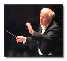Leonard Slatkin, by Steve J Sherman 