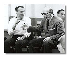 George Balanchine and Igor Stravinsky