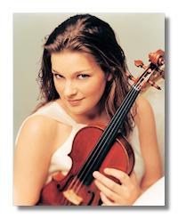 Violinist Janine Jansen by Mitch Jenkins