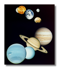 Planets fo the Solar System