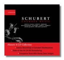 Classical Net Review - Schubert - Chamber Music