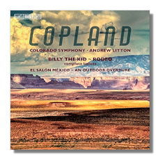 Classical net review copland ballet music an outdoor for Aaron copland el salon mexico score