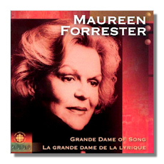 Maureen Forrester, Grande Dame of Song, CBC Records, Millennium Series, PSCD2017