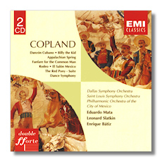 Classical net review maestrino copland ballet music for Aaron copland el salon mexico score