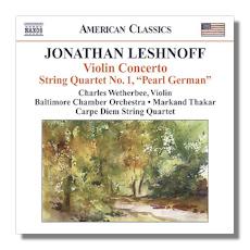 Classical Net Review - Leshnoff - Violin Concerto, Distant