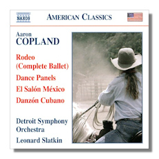 Classical net review copland orchestral works vol 1 for Aaron copland el salon mexico score