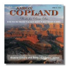 Classical net review copland music for two pianos for Aaron copland el salon mexico score