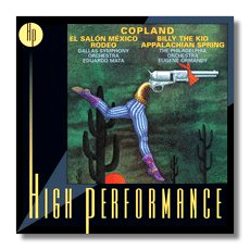 Classical net review rca high performance i for Aaron copland el salon mexico score